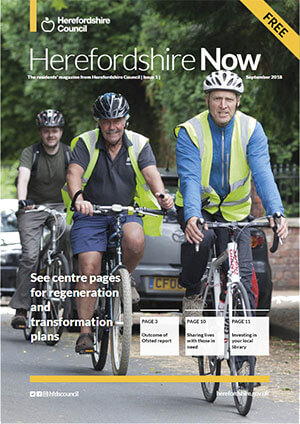 Herefordshire Now issue 1 cover