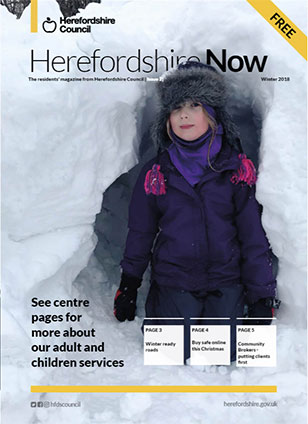 Herefordshire Now issue 2 cover