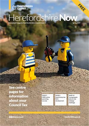 Herefordshire Now issue 3 cover