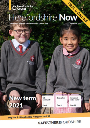 Herefordshire Now issue 7 cover
